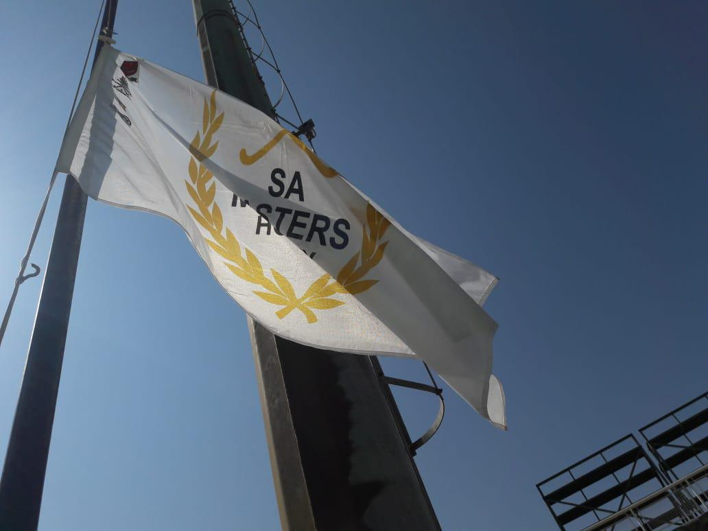 The flag comes down on a very successful SA Masters IPT in Johannesburg