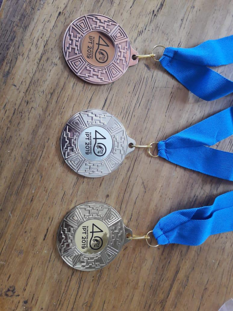 Medals on offer at the recent SA Masters IPT