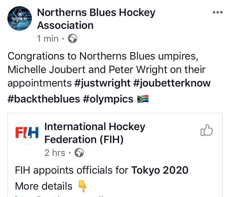 Masters players representing SA at the Tokyo Olympics
