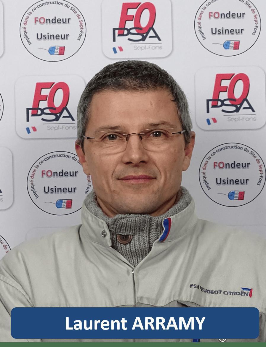 Laurent ARRAMY