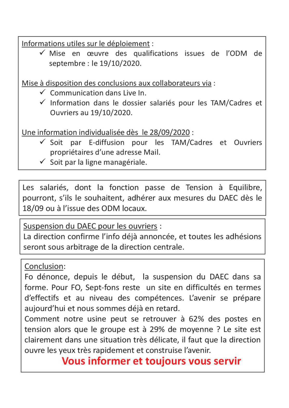 Compte Rendu CSE extra 24 septembre 2020