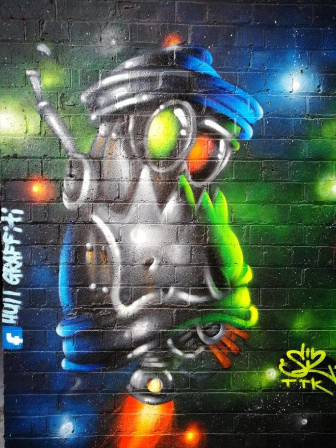 Digbeth Graffiti Art Walk