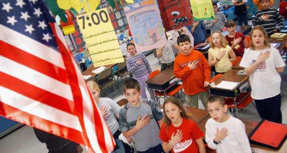 Violation 2 - Compelling Pledges of Allegiance