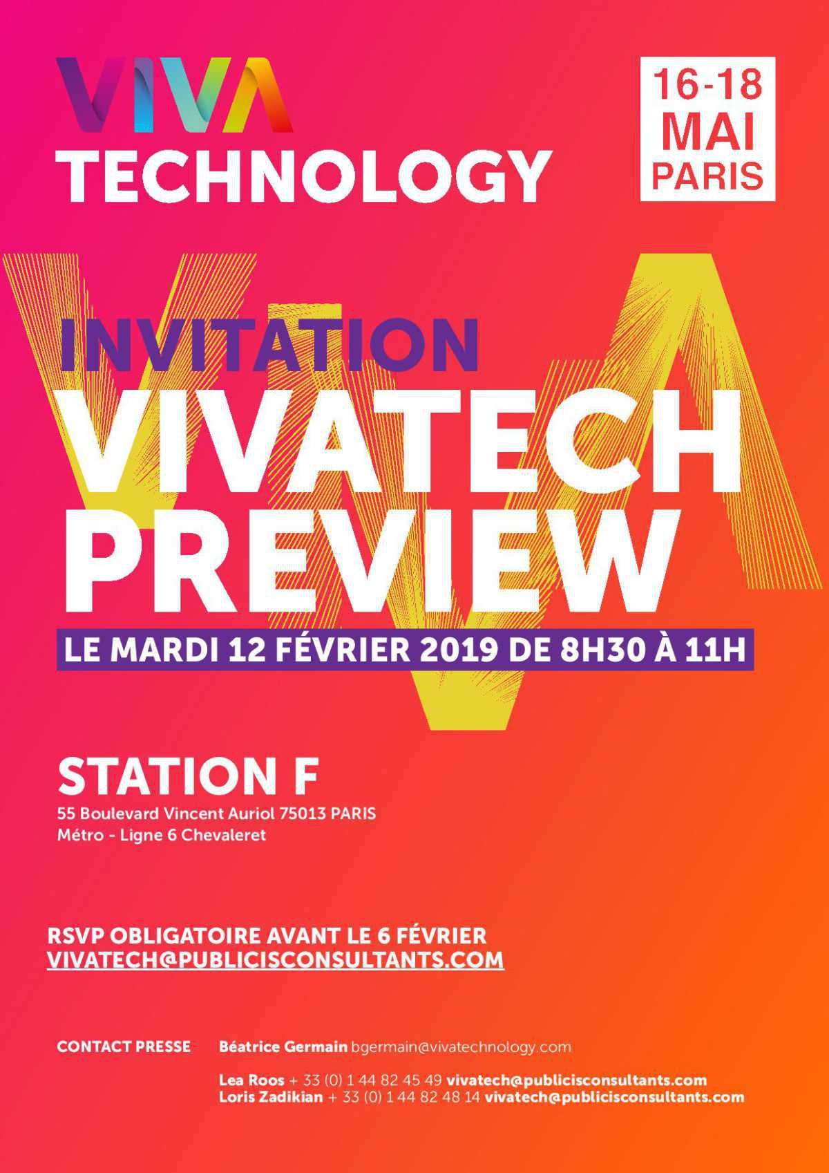 Viva Technology Preview