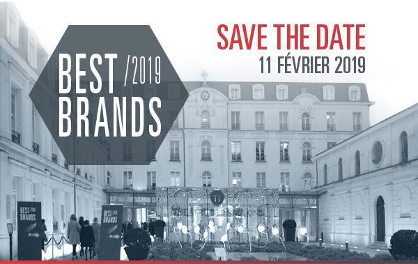 Serviceplan et GfK vous convient à la 2ème édition de BEST BRANDS en France