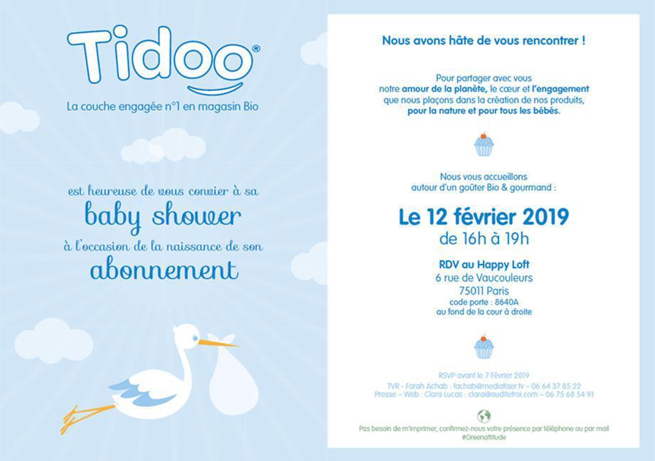 Baby Shower / Tidoo