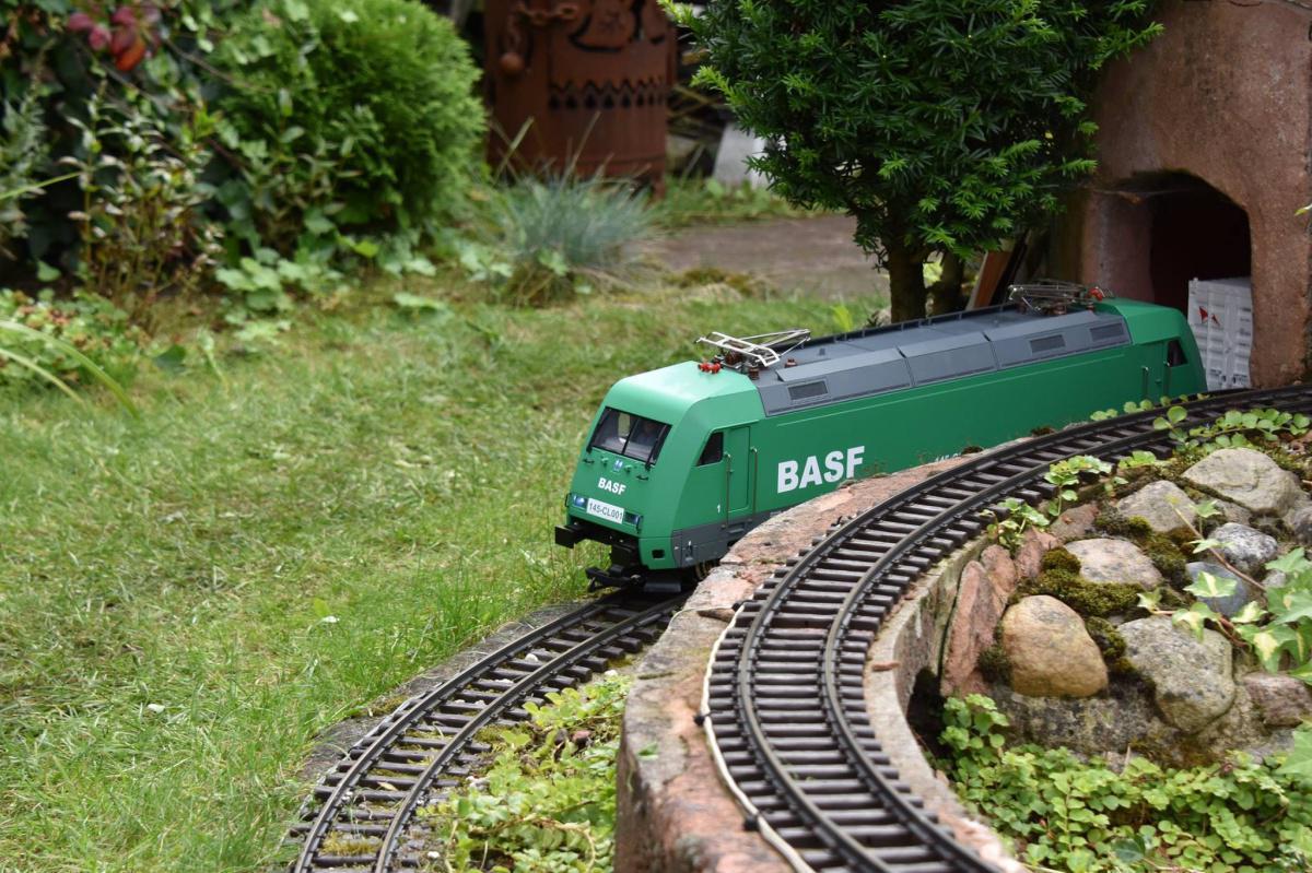 Meine Gartenbahn