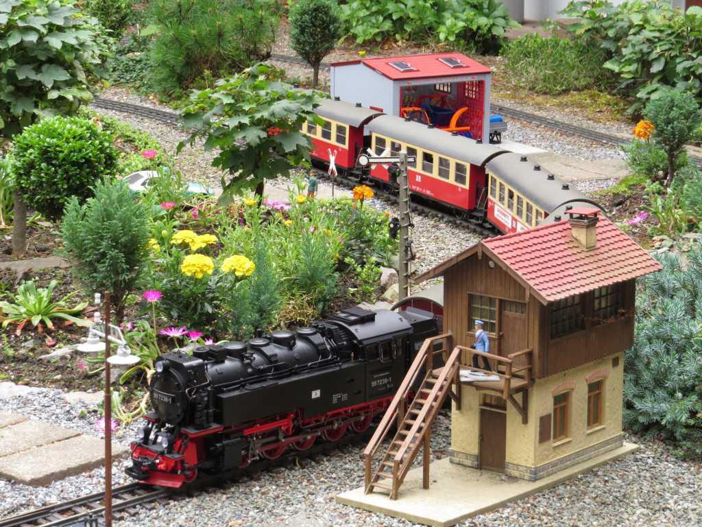Gartenbahn im Küchwald-Park