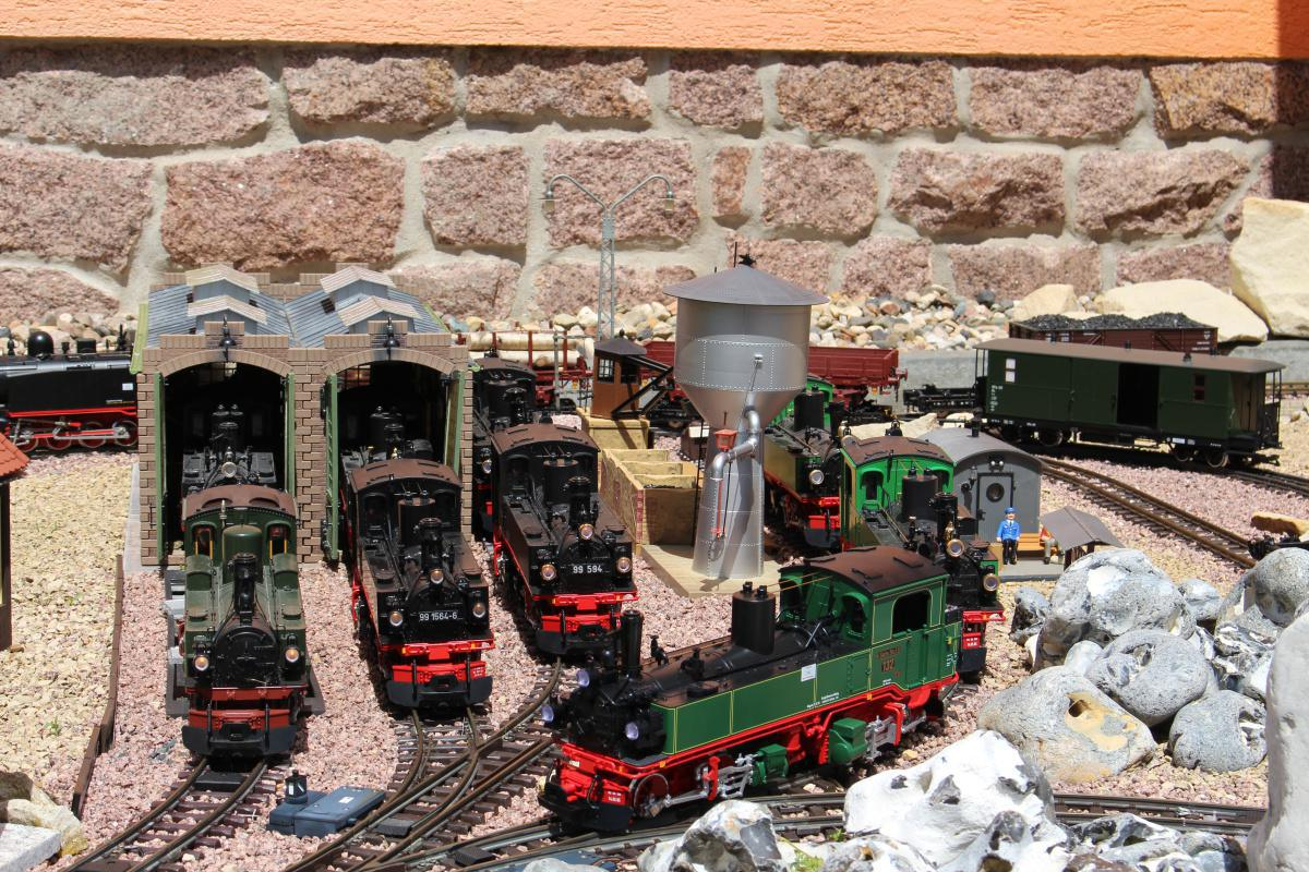 Rastigs Gartenbahn