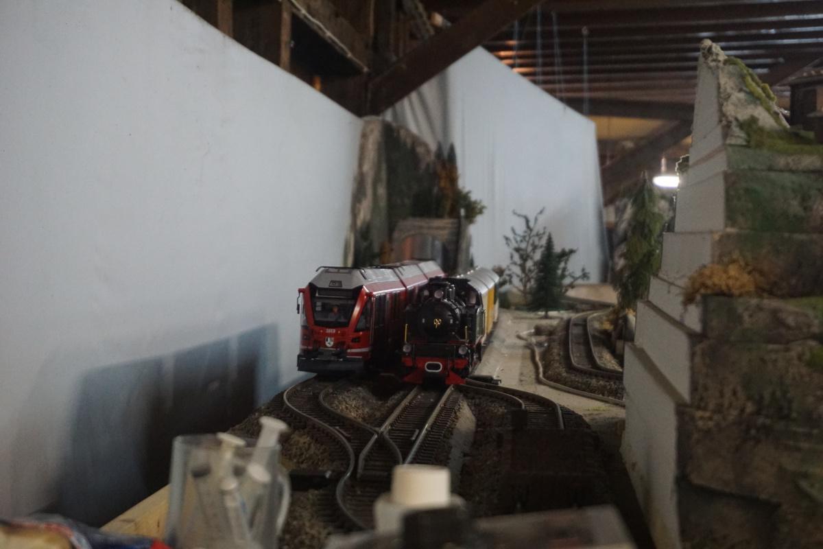 LGB Anlage des Eisenbahn-Technik-Clubs Albstadt