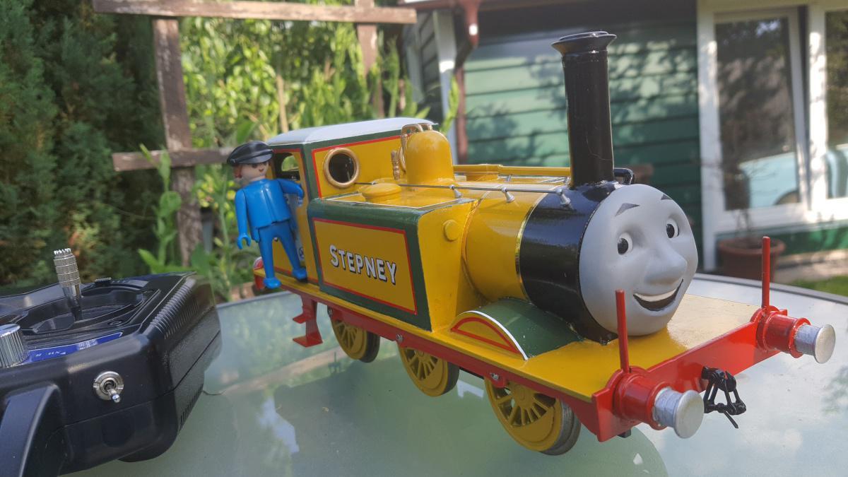 Stepney ist zurück aus dem Werk in Brighton!