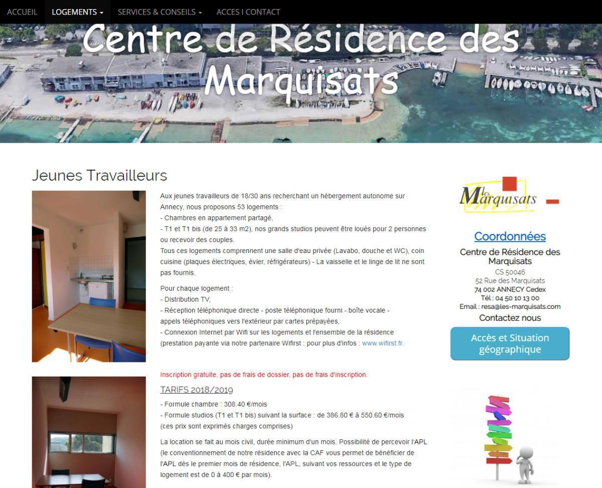Centre résidence des marquisats
