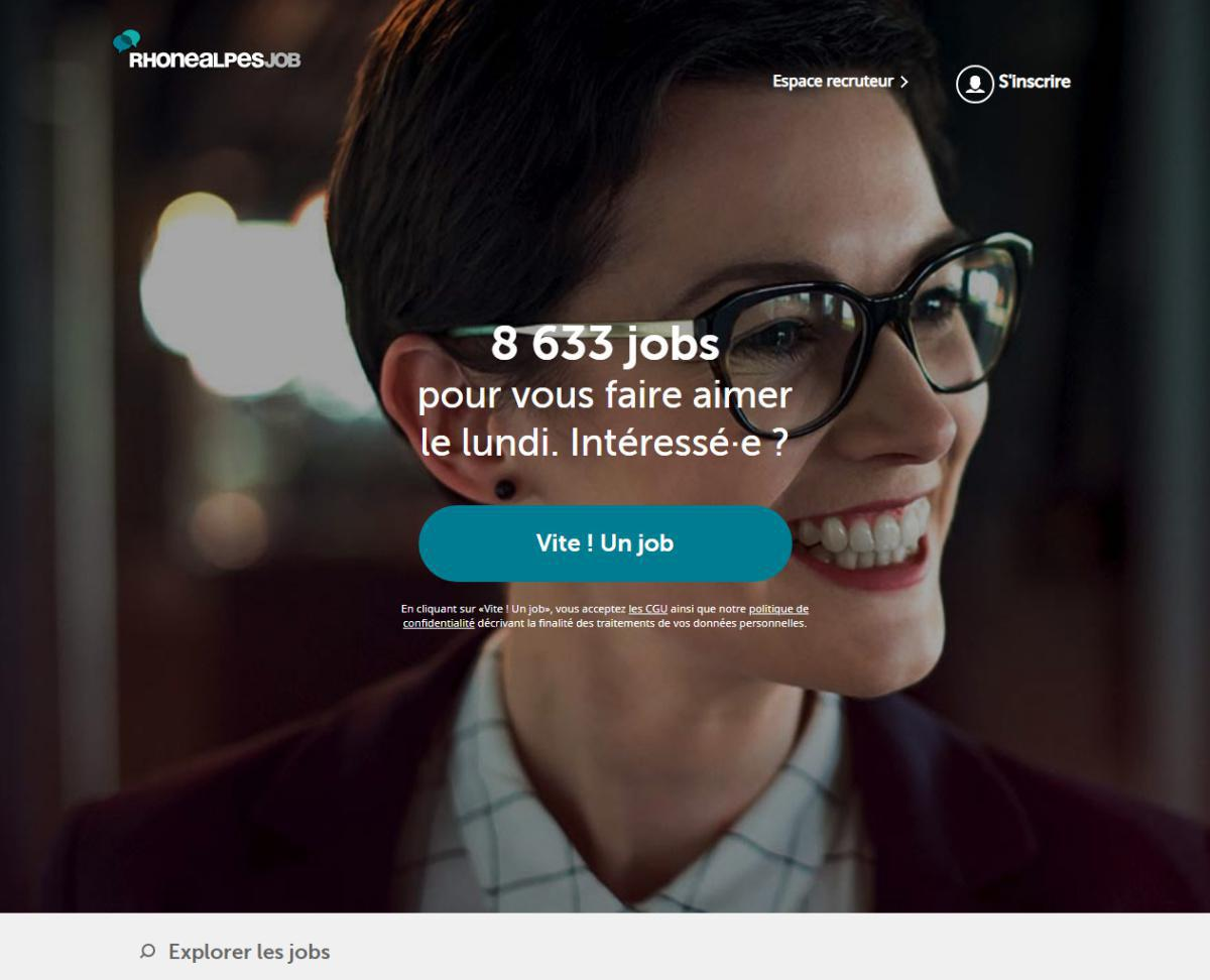 Rhône-Alpes Job