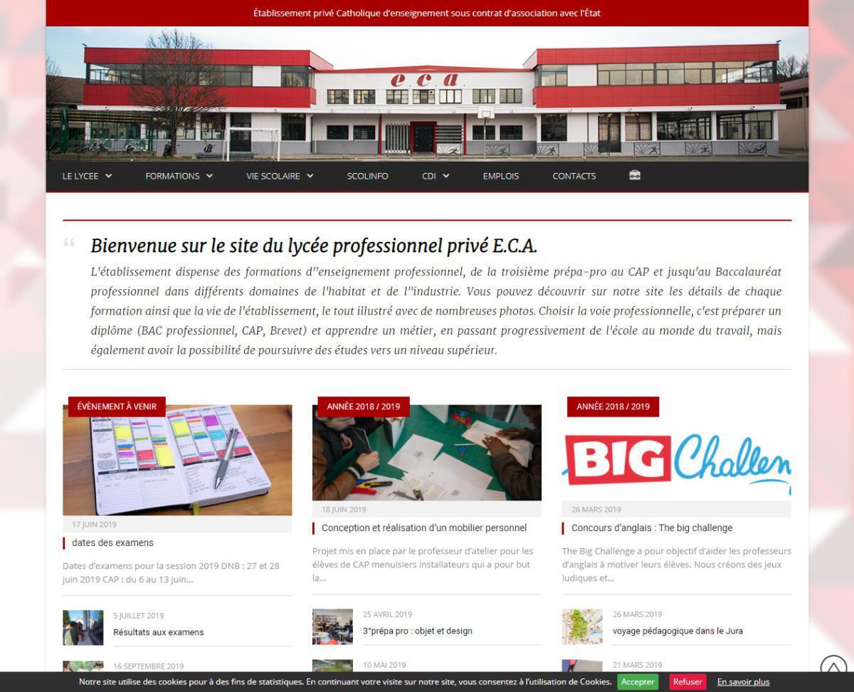 Lycée professionnel privé ECA
