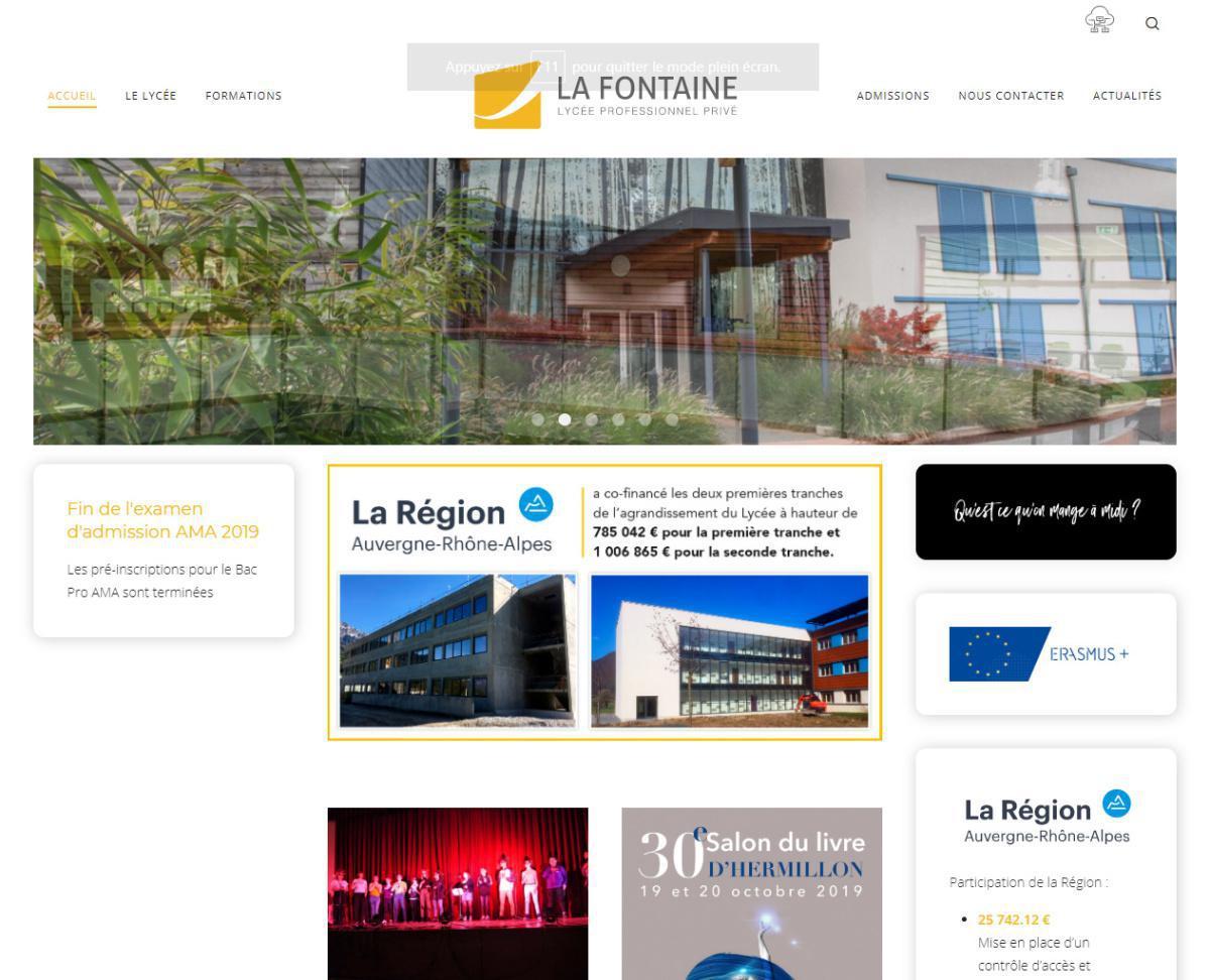 Lycée professionnel privé La Fontaine