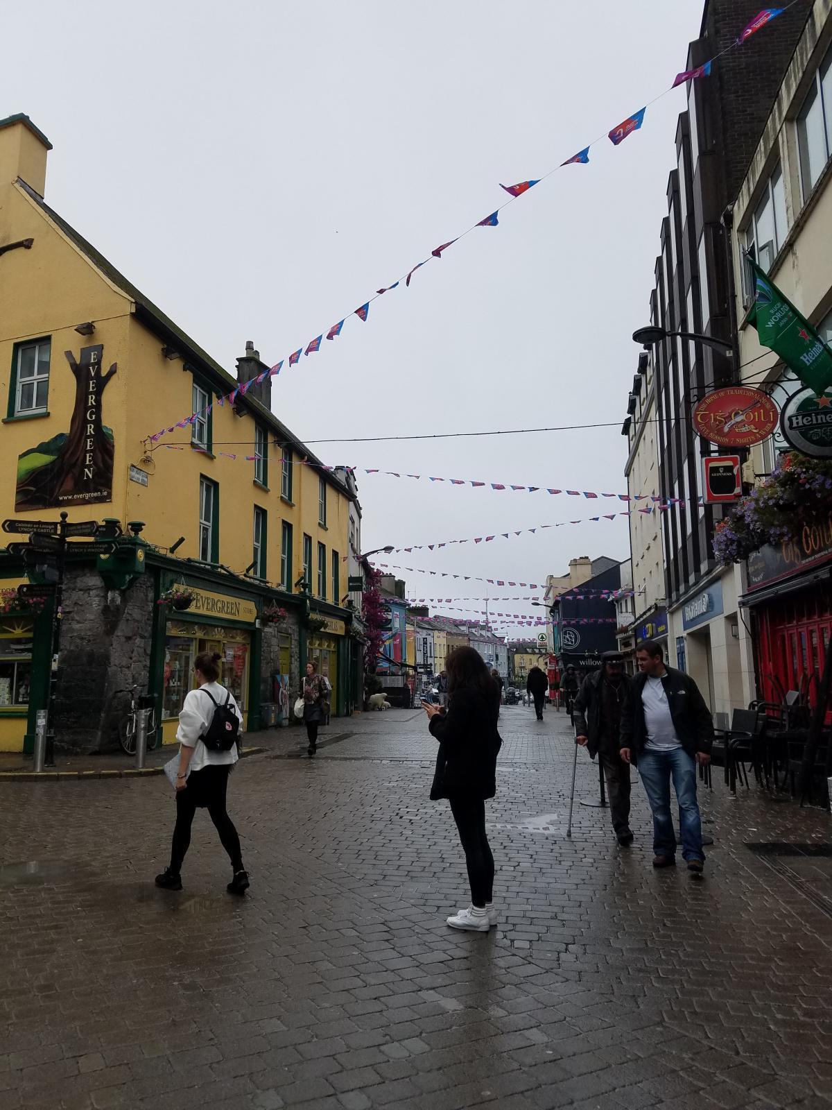 Elisa, récit d'une aventurière à Galway