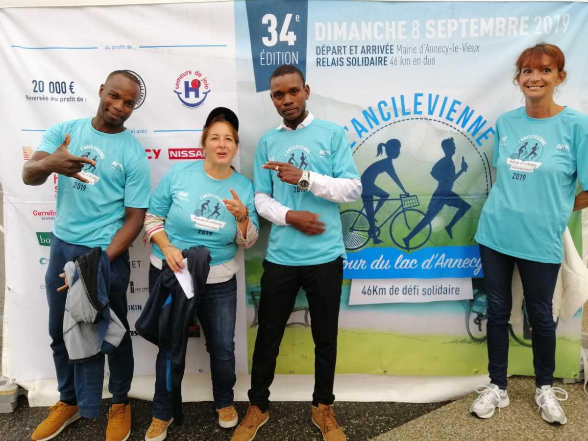 Bénévolat pour l'Ancilevienne Tour du lac d'Annecy 2019