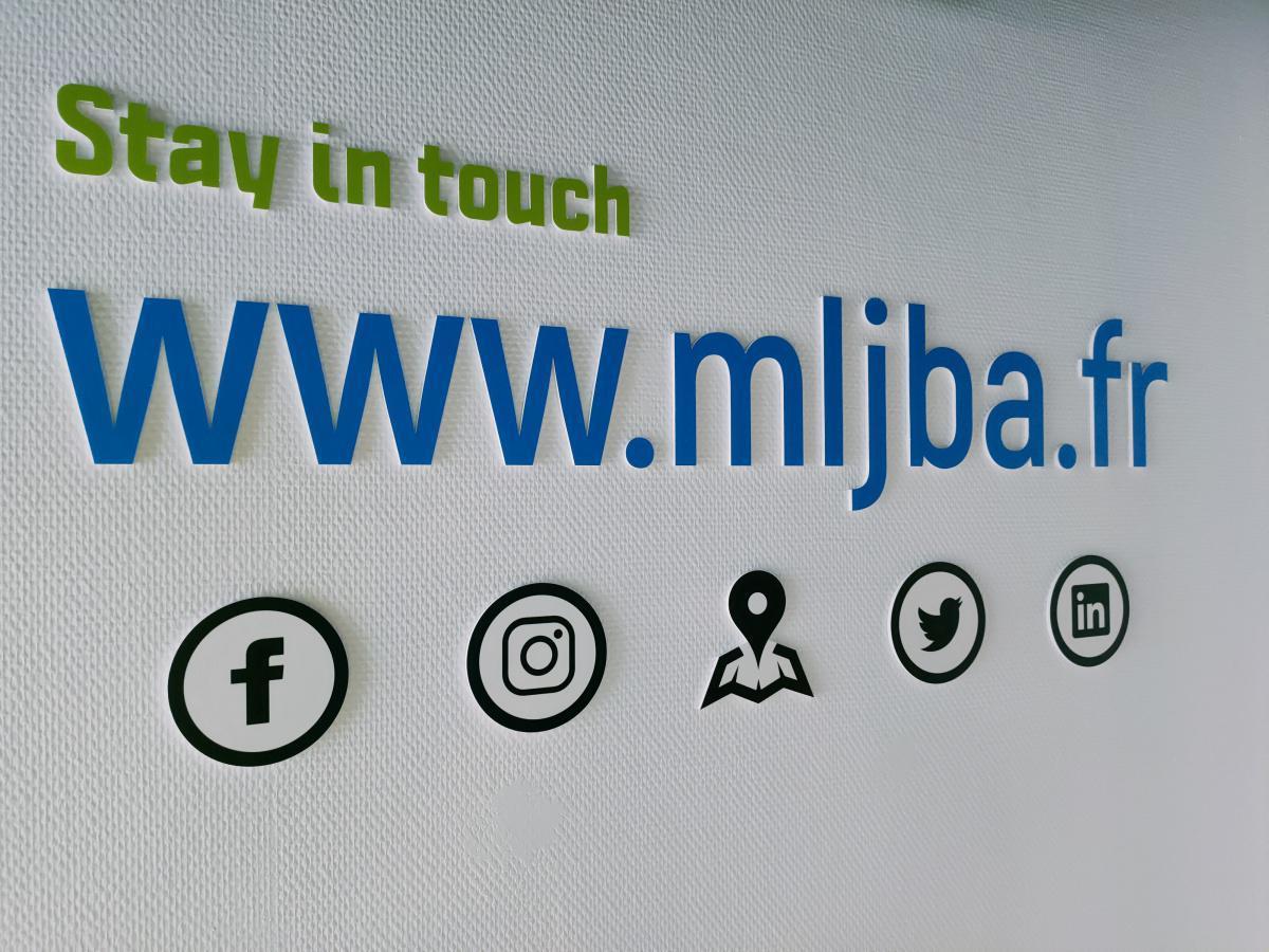 Inauguration du nouveau hall d'accueil de la MLJBA