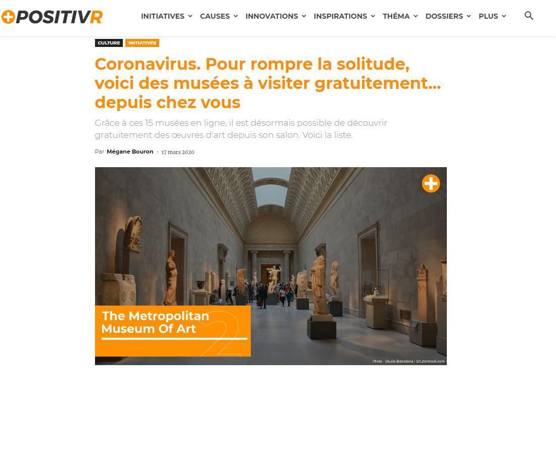 Visite de musées virtuelles