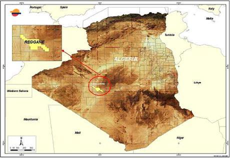 Carte Algerie Reggane.Un Consortium Mediterraneen Va Investir 2 22 Mrds Dans Un