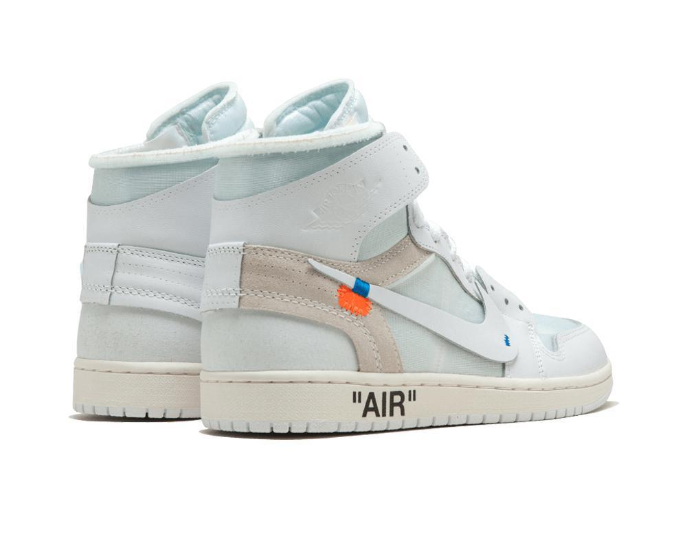 Air JORDAN I x Off White - White