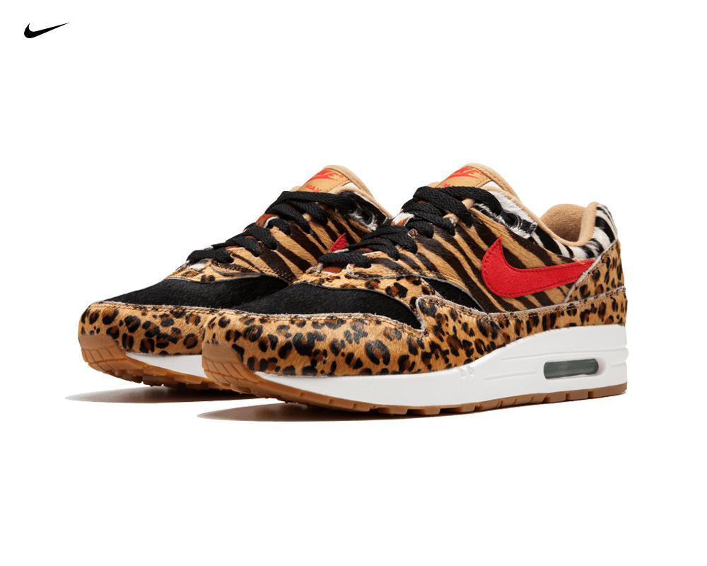 NIKE Air max 1 x Atmos Animal Pack 2.0