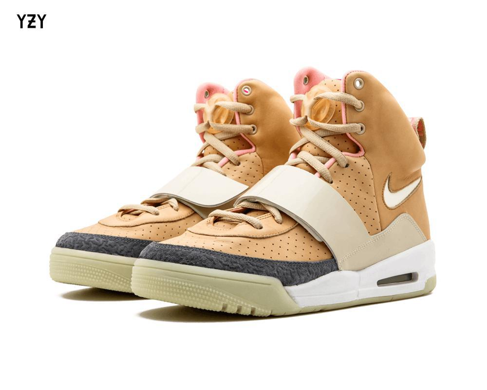 NIKE Air Yeezy 1 Net Tan