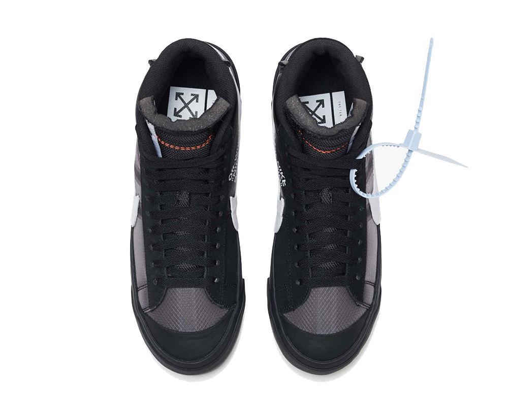 NIKE Blazer Mid x Off-White Black