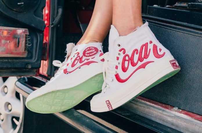 CONVERSE Chuck Taylor All-Star 70s Hi x Kith Coca-Cola White