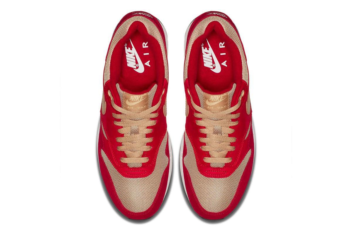 NIKE Air Max 1 Curry Pack Tough Red