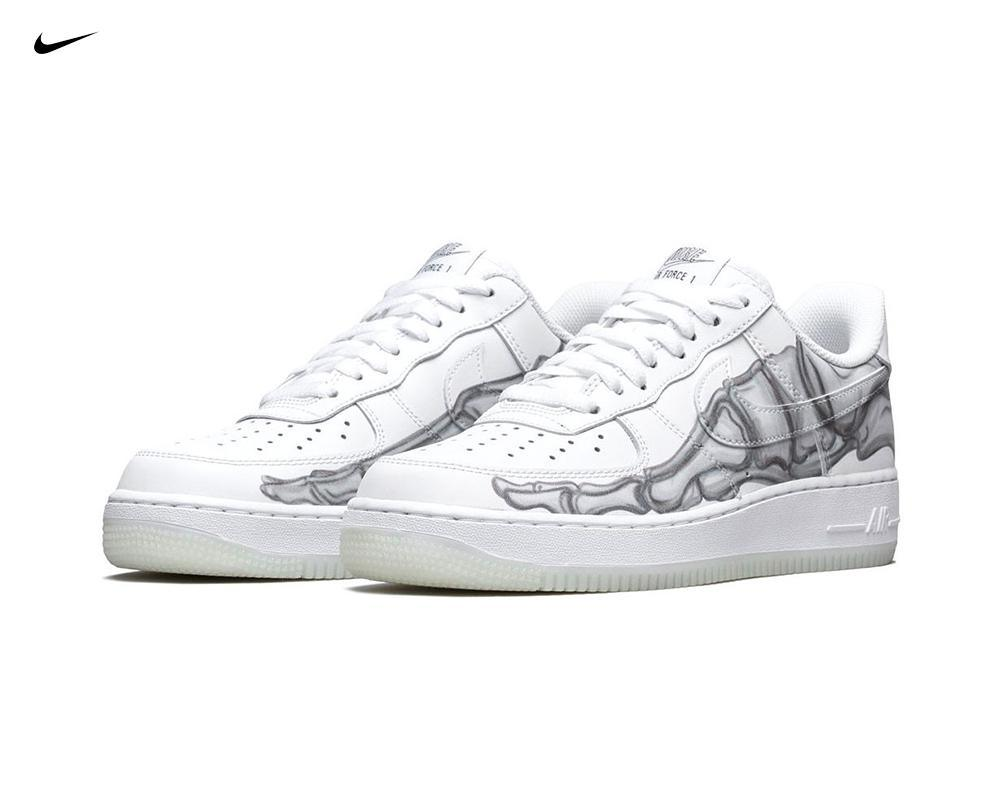 "NIKE Air Force 1 ""Skeleton"""