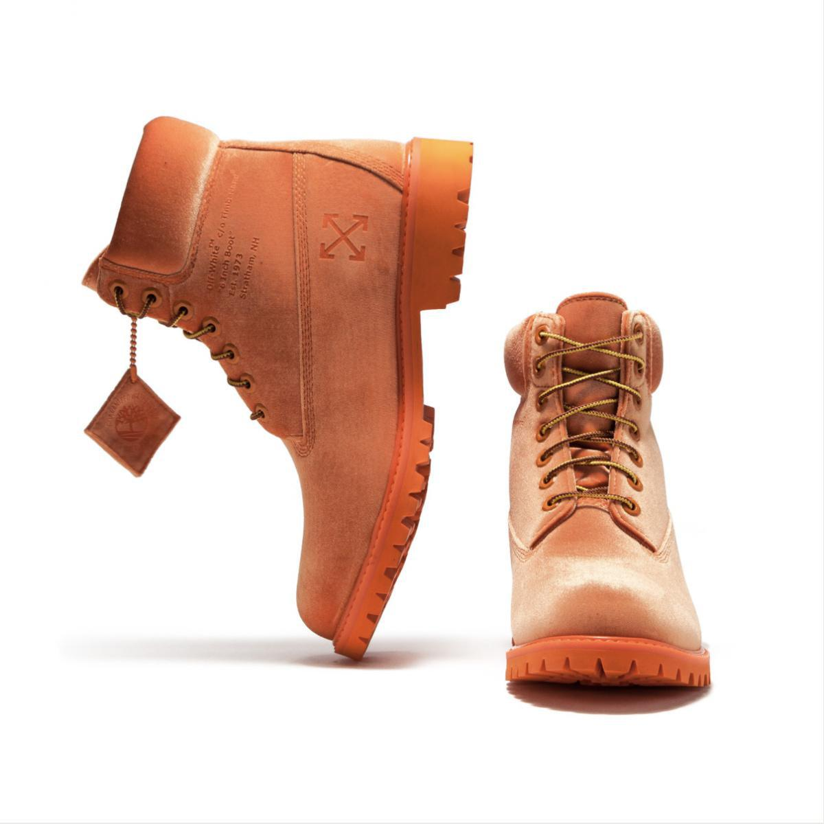 TIMBERLAND Boot x Off-White Boots Orange