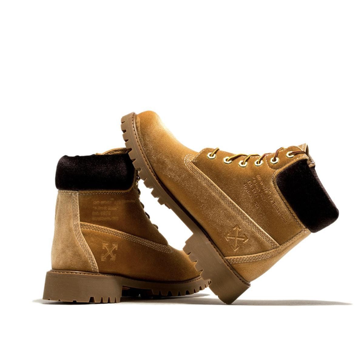 TIMBERLAND Boot x Off-White Boots Camel
