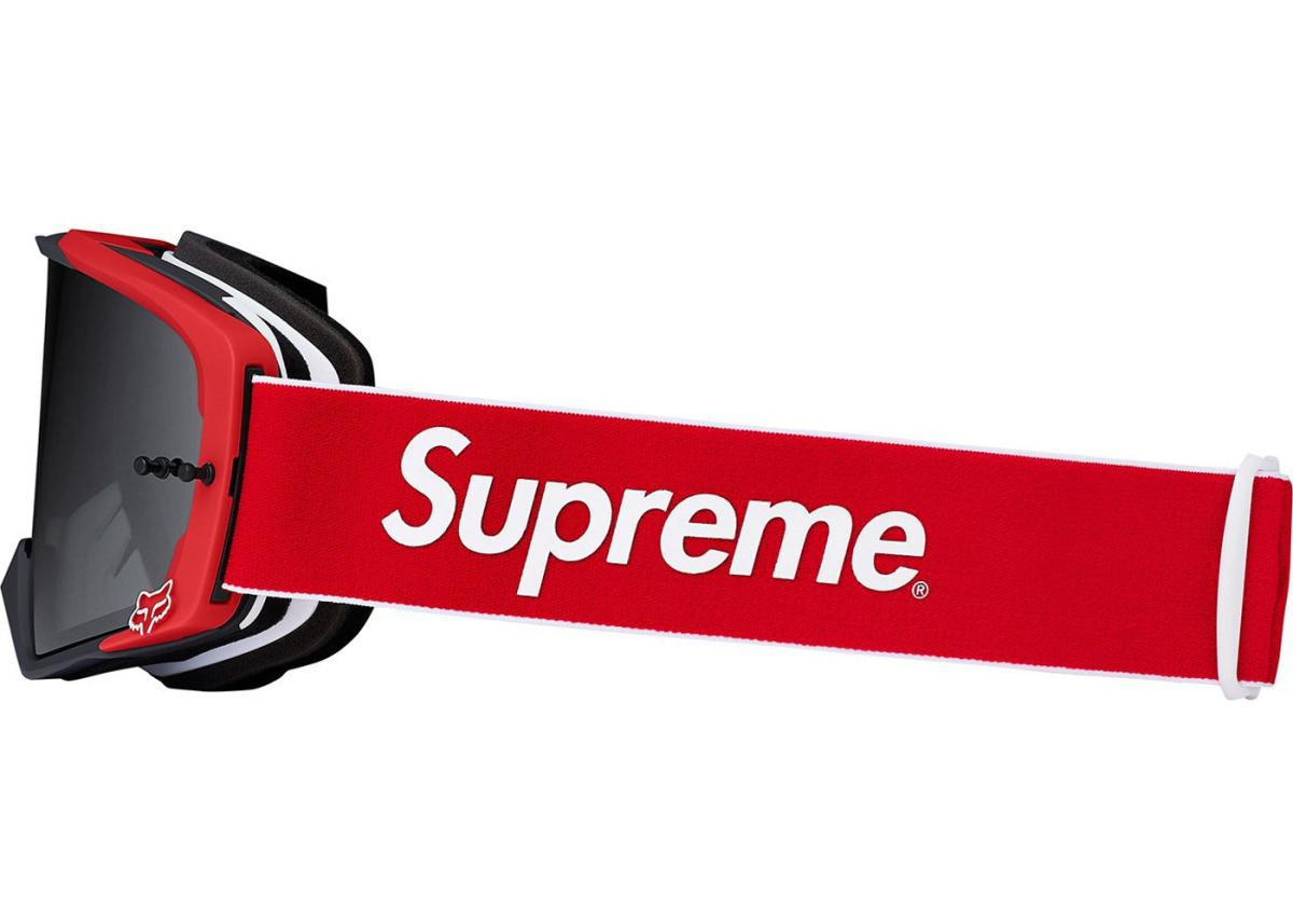 SUPREME Fox Racing VUE Goggles Red