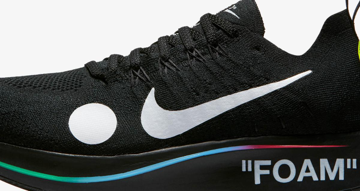 NIKE Zoom Fly Mercurial Off-White Total Black