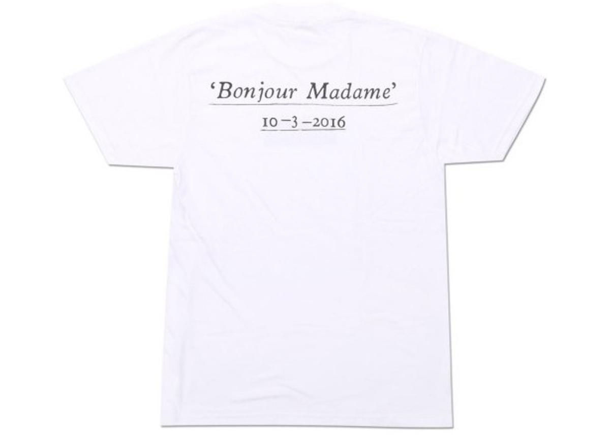 SUPREME Paris Box Logo Tee White
