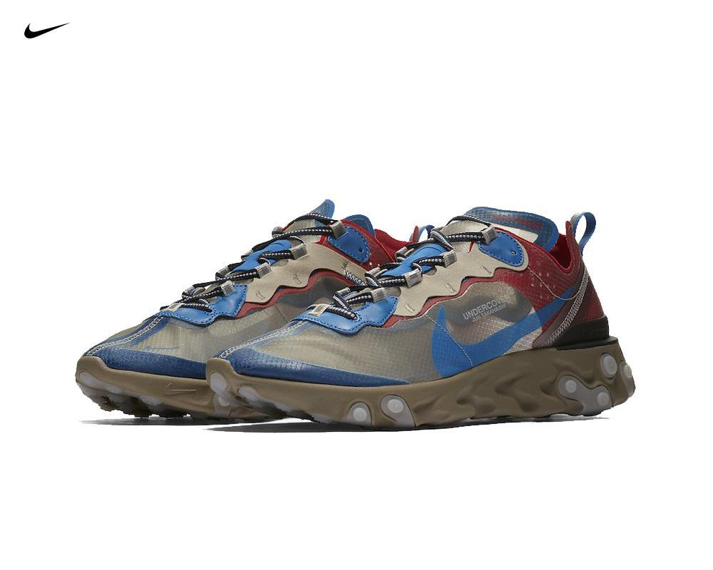 NIKE React Element 87 x Undercover Red Blue