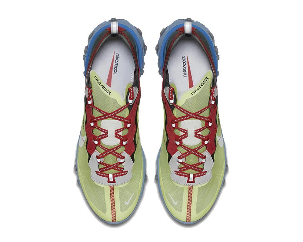 NIKE React Element 87 x Undercover Yellow Blue