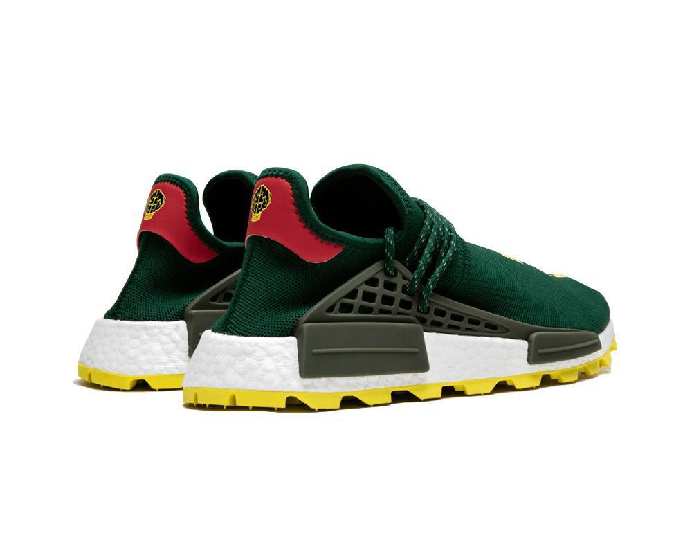 ADIDAS NMD Pharrell Hu x N.E.R.D. Green Yellow
