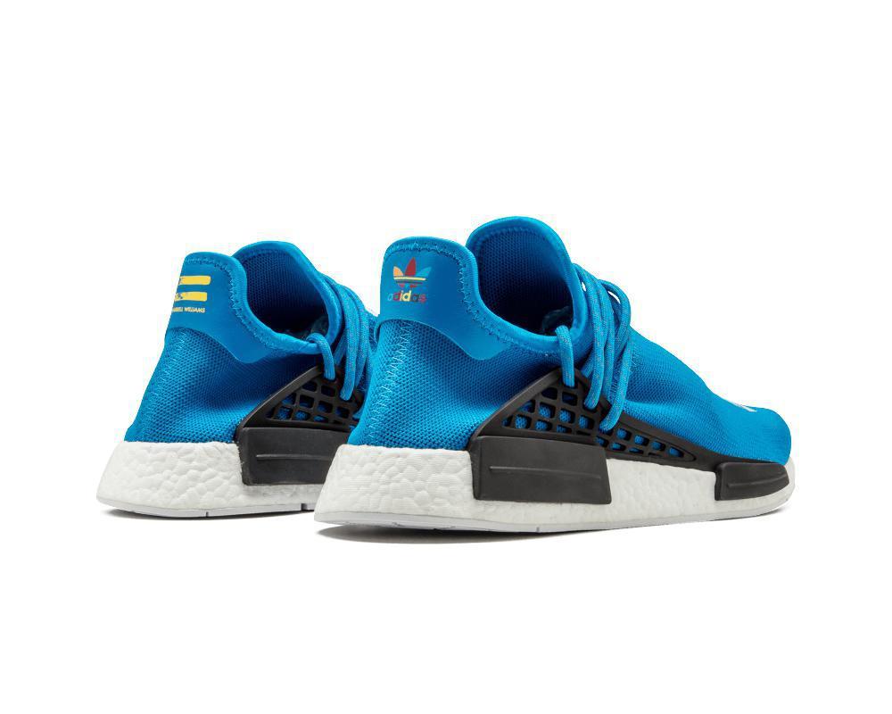 ADIDAS NMD Pharrell Hu Being Sharp Blue