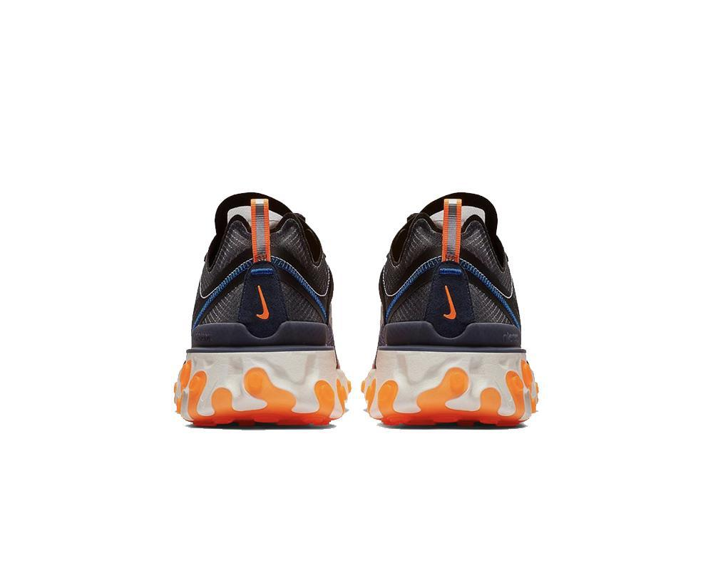 NIKE React Element 87 Grey Orange