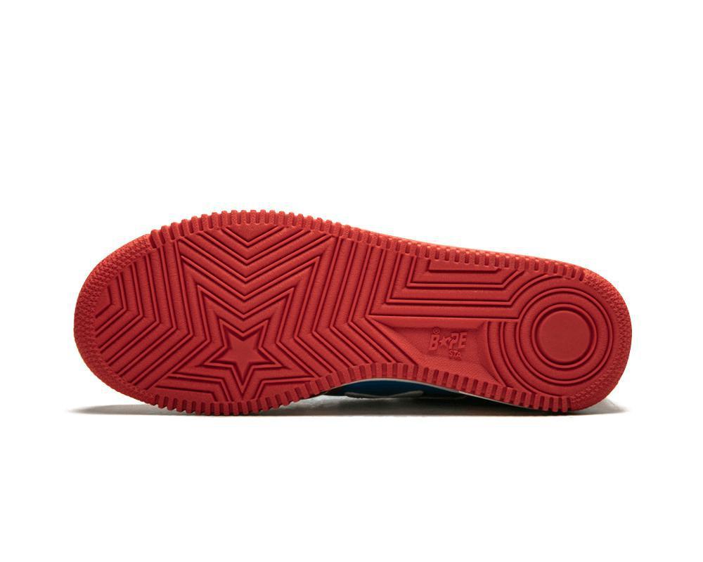 BAPE Sta Tri-Color Red