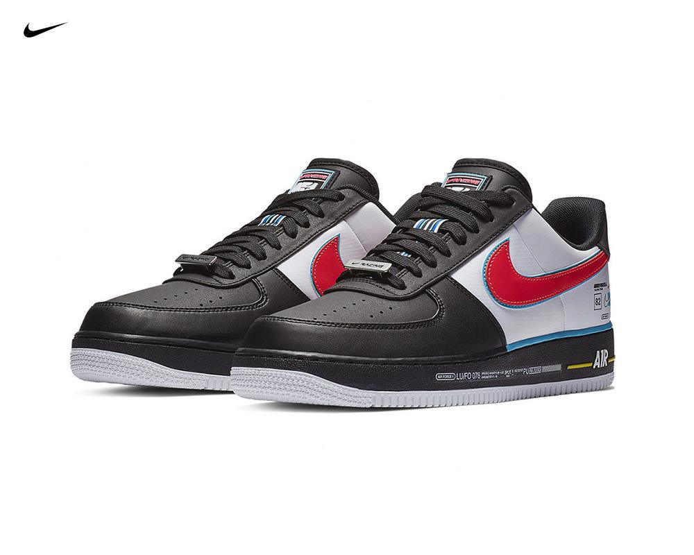 NIKE Air Force 1 Racing-Inspired