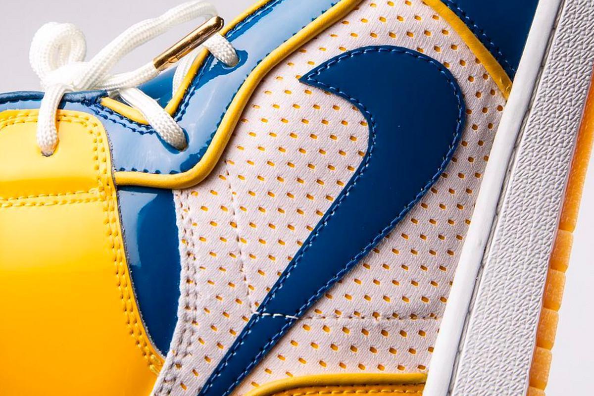 Golden State Warriors & The Shoe Surgeon Tease un Custom Air Jordan 1