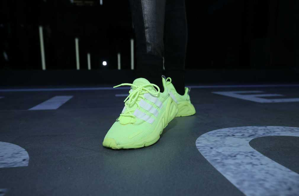 Innersect x Adidas LXCON Neon Green en images