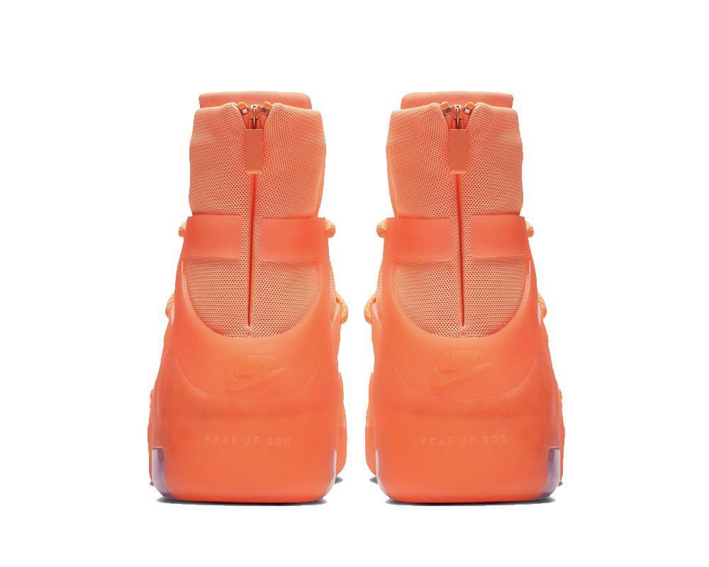 NIKE Air x Fear Of God 1 Orange Pulse