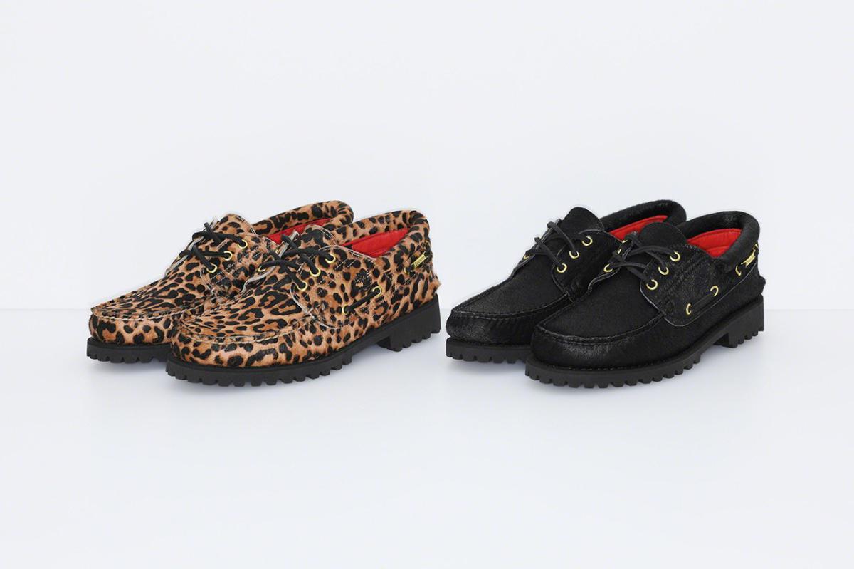 Supreme x Timberland 2019 3-Eye Classic Lug Shoe