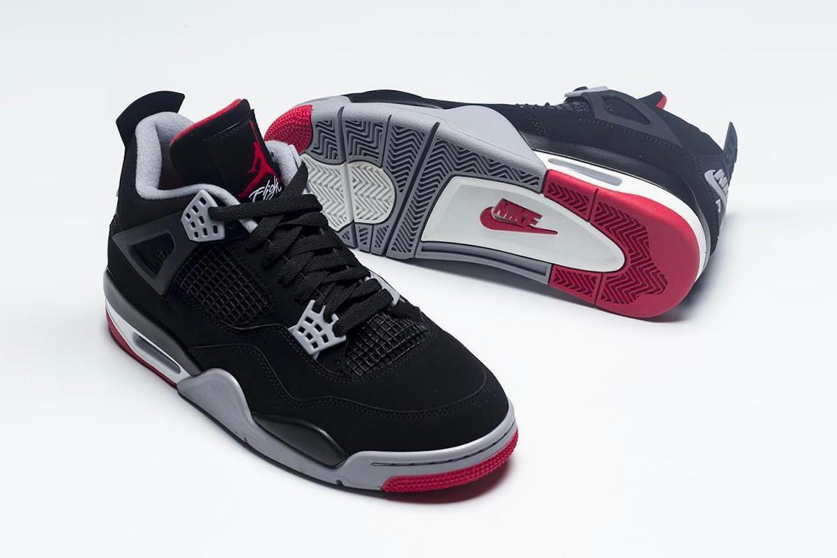 """Jetez un premier coup d'oeil à la Air Jordan 4 """"Bred"""" Retro 2019 d'Air Jordan"""