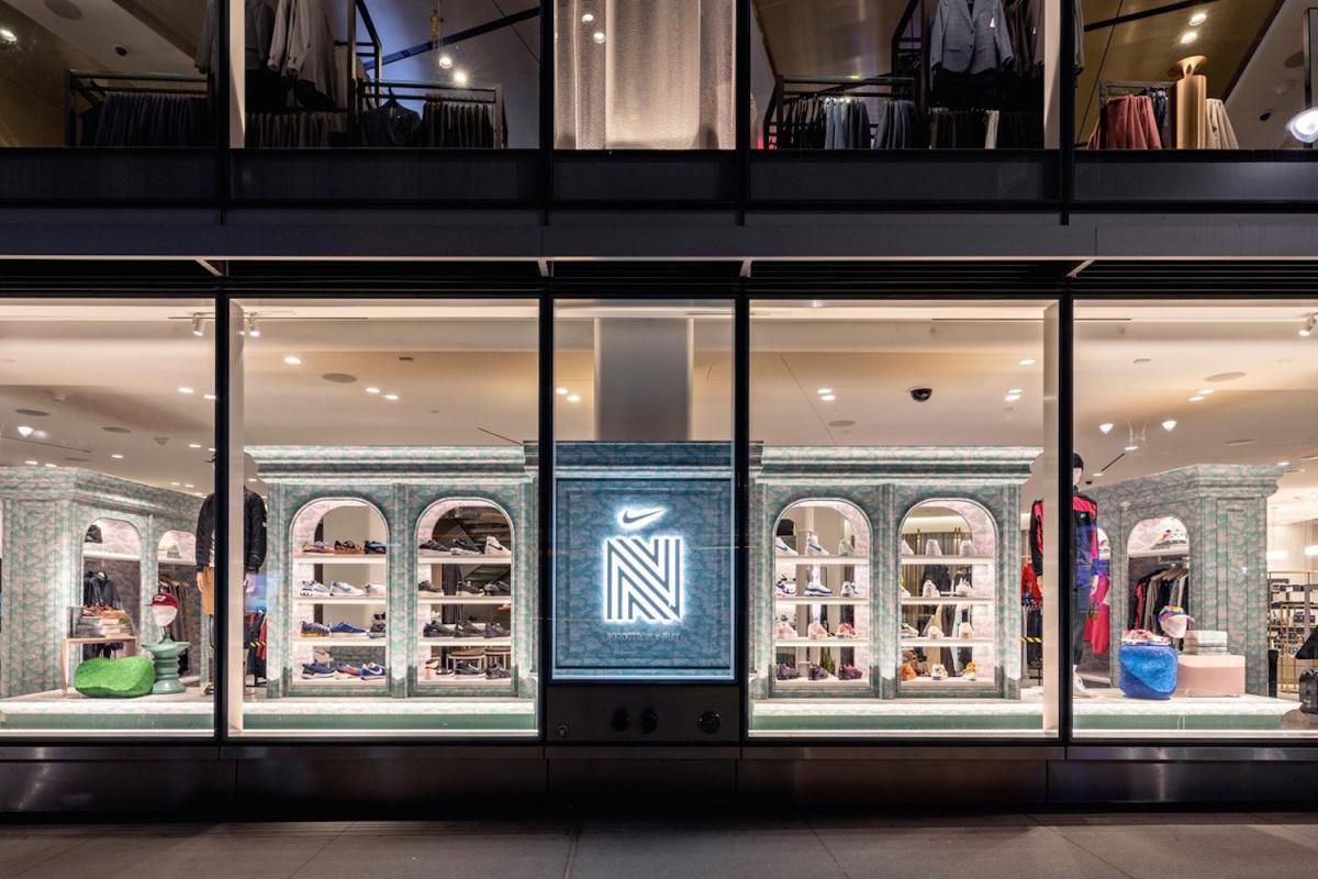 Nordstrom x Nike ouvre sa première boutique de Sneakers à NYC