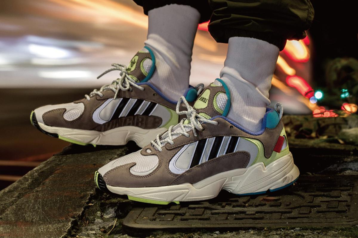 INVINCIBLE & adidas s'inspirent des couleurs de la vision de la chaleur pour la collaboration de Yung-1